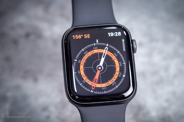 la bàn trên apple watch series 5