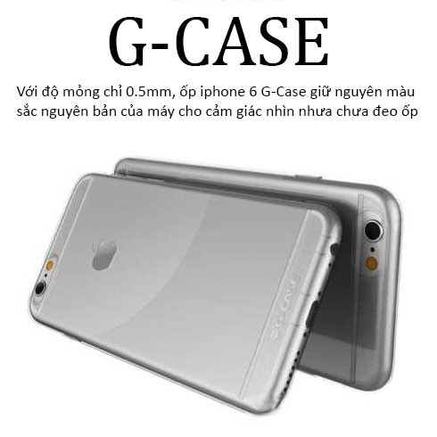 op trong suót g-case iphone 6