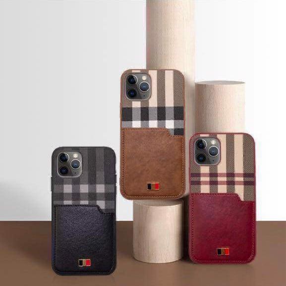 Ốp lưng da Iphone 12 Pro - 12 Pro Max Mentor VII