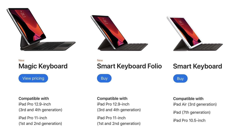 So sánh iPad Pro 2020 vs iPad Pro 2018