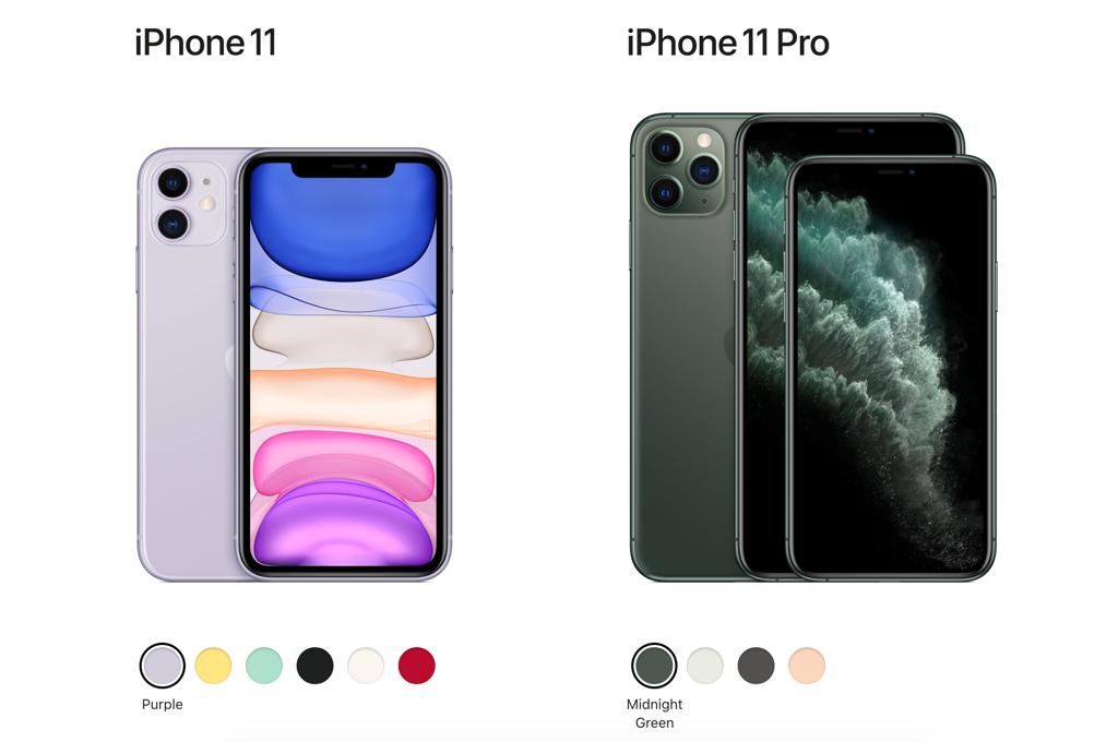 iPhone 11 Pro màu mới