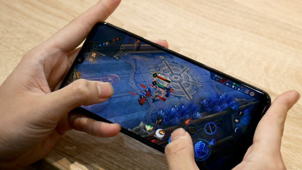 galaxy m21 chơi game