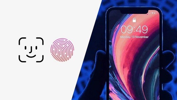 touch id tren iphone