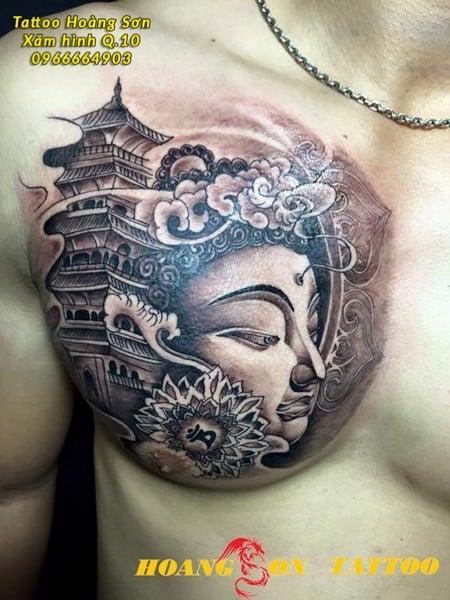 Hình xăm Phật 23