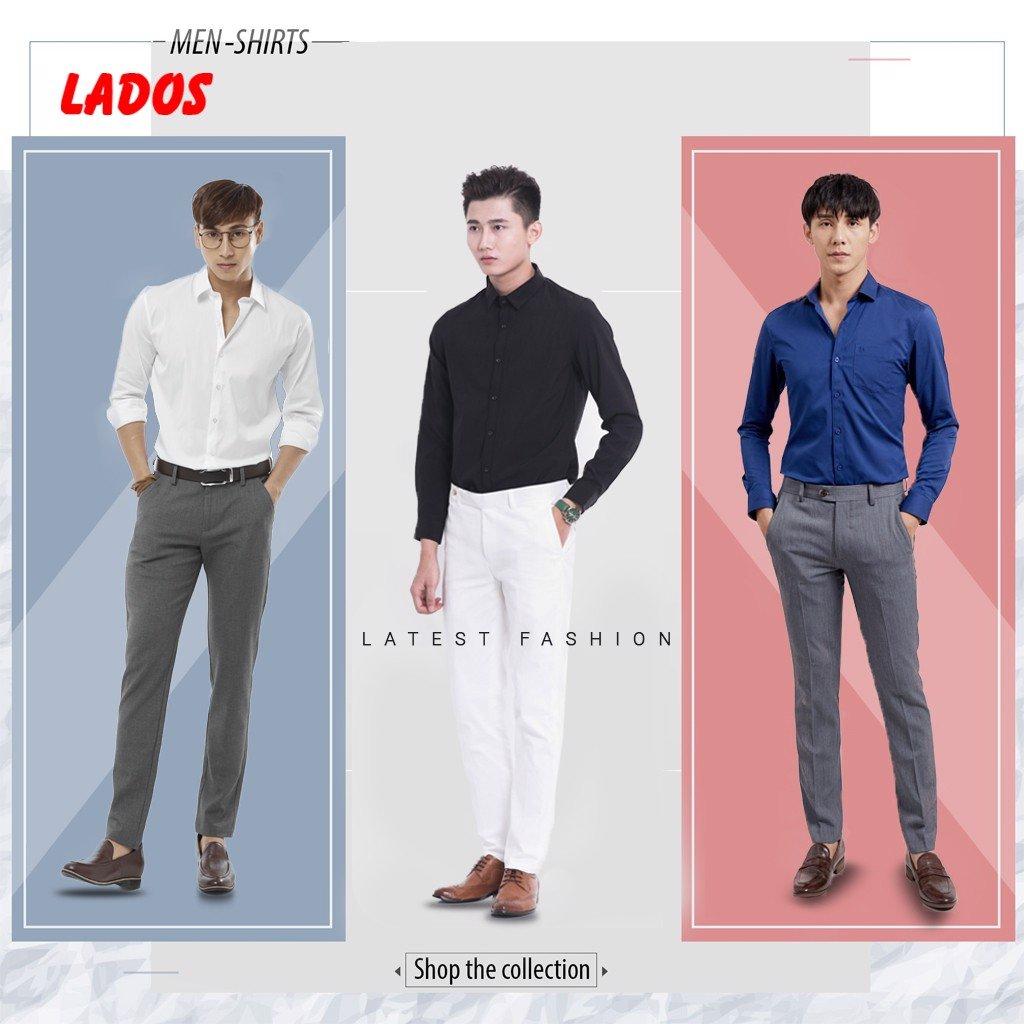 Bộ sưu tập áo sơ mi nam đẹp Lados