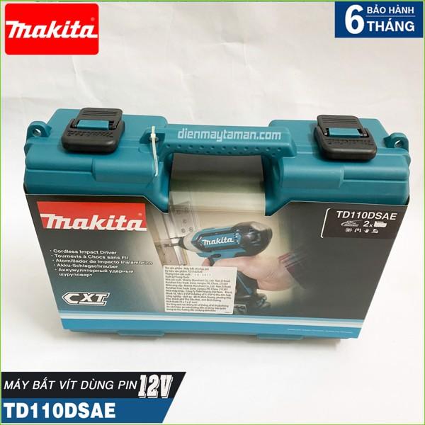 Máy bắt vít Makita TD110DSAE