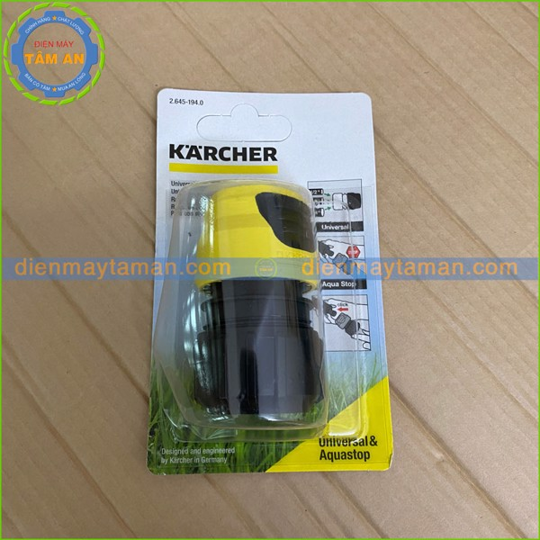 Khớp nối nhanh hiệu Karcher Aquastop