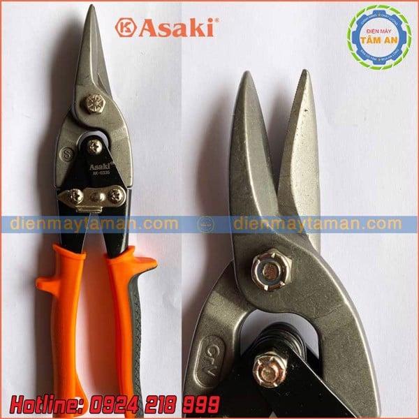 Kéo tôn thẳng 10 inch Asaki AK-335