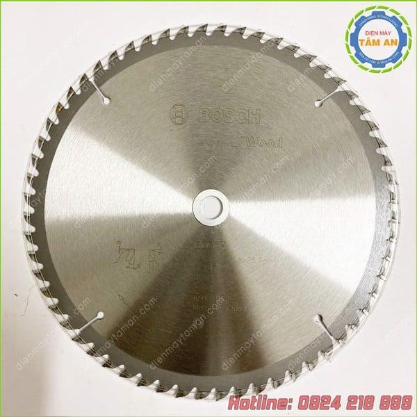 Lưỡi cưa gỗ Bosch 254mmx25.4mm kèm vòng đệm 16mm 2608643002