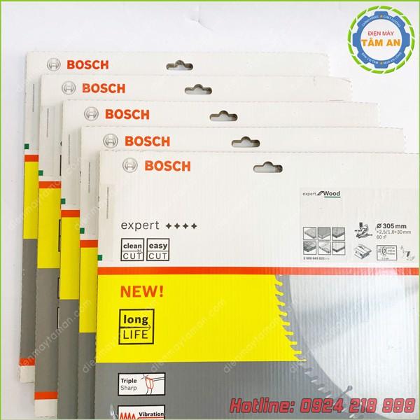 Lưỡi cưa gỗ BOSCH 305mmx30mm 60T 2608643025