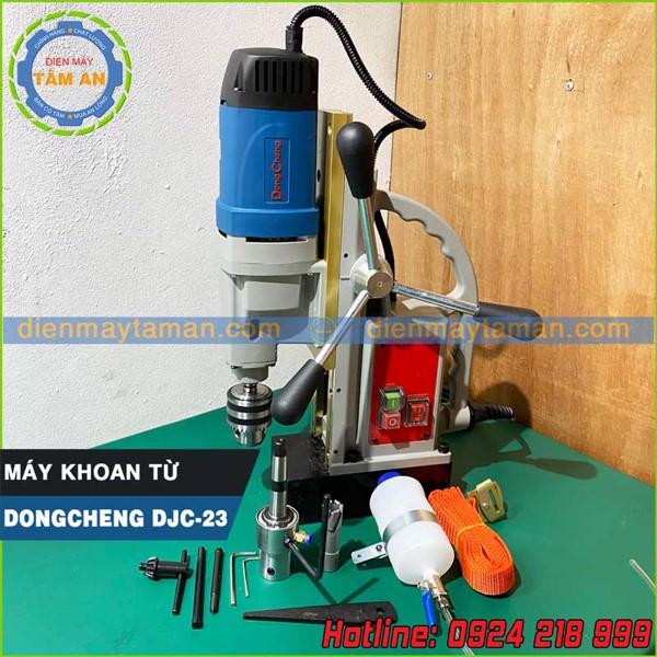 Phụ kiện kèm theo máy khoan từ Dongcheng DJC 23