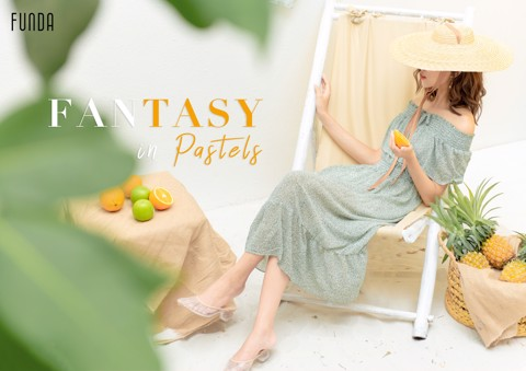 FANTASY IN PASTELS | New Lookbook