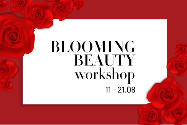 BLOOMING BEAUTY WORKSHOP x POP UP SALE CHỈ TỪ 99K