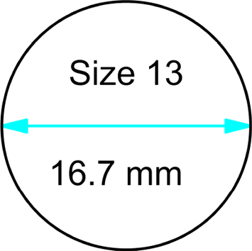size 13