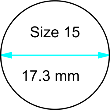 size 15