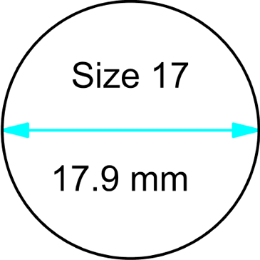 size 17