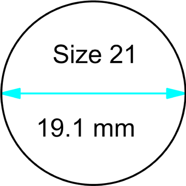 size 21