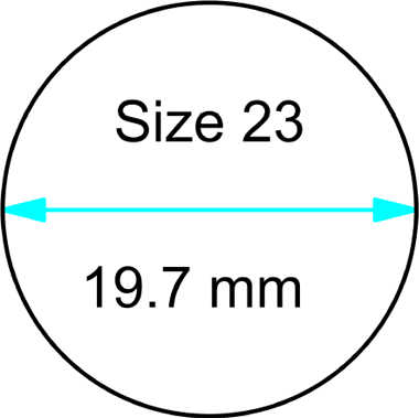 size 23