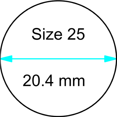 size 25