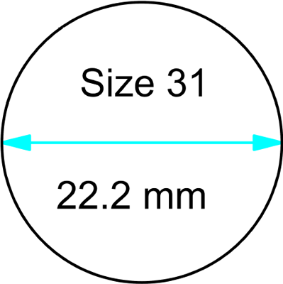 size 31