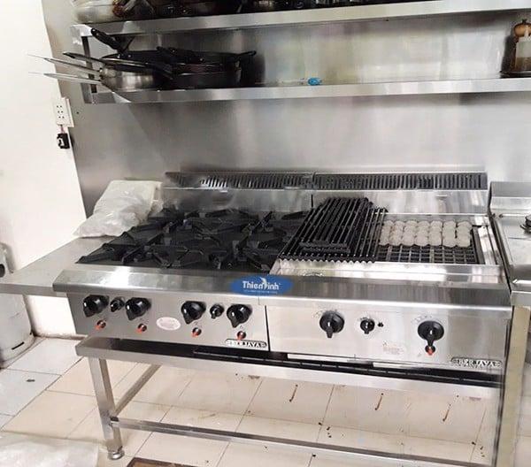 Trang bị các thiết bị bếp âu hiện đại cho không gian bếp