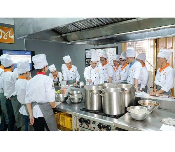 Trường lớp đào tạo đầu bếp món âu