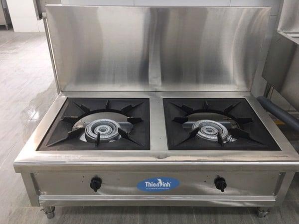 Hình ảnh thực tế bếp hầm đôi công nghiệp