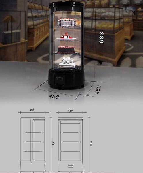 kích thước tủ trưng bày