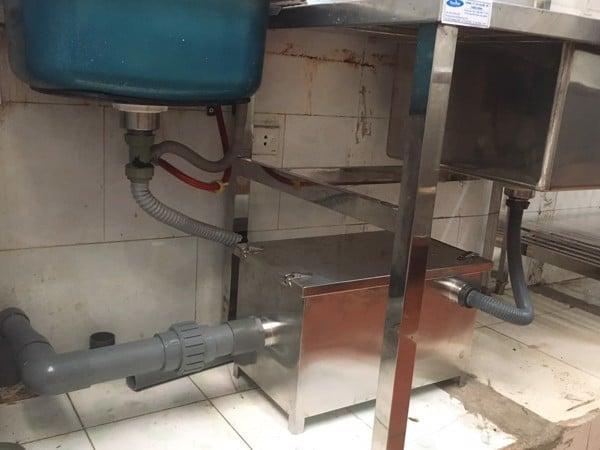 Lắp đặt hệ thống cấp thoát nước cho quán ăn quán nhậu