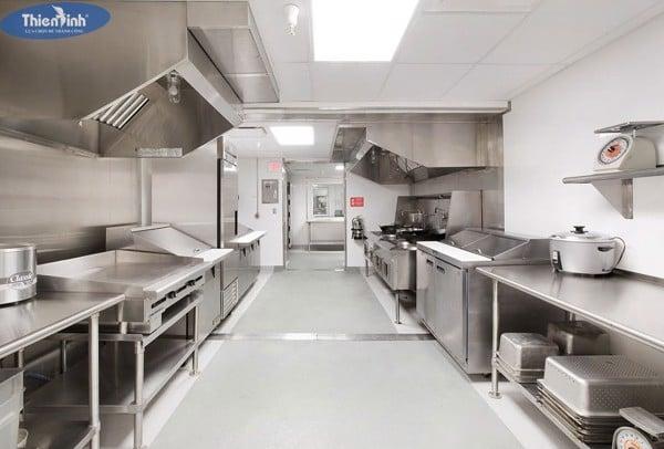 Mỗi khu vực trong quán ăn có chức năng riêng