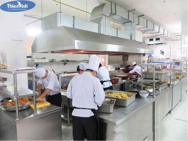 Thiết kế bếp quán ăn quán nhậu mạng lại một không gian phục vụ chuyên nghiệp