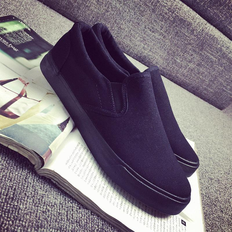 Giày Xỏ Nam Full Black 45 46 47 48