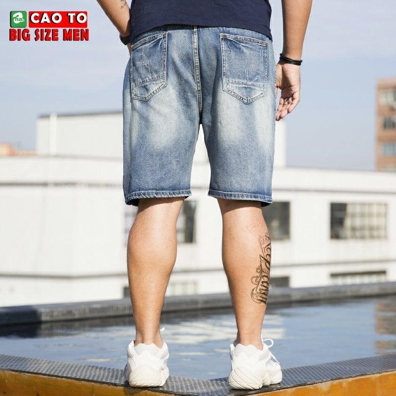 quần short jeans cho người mập