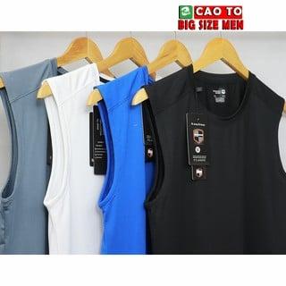 Áo ba lỗ size lớn big size men đa dạng màu sắc mâu mã