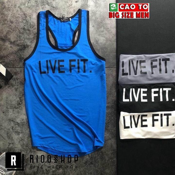 áo ba lỗ thể thao nam cho người béo