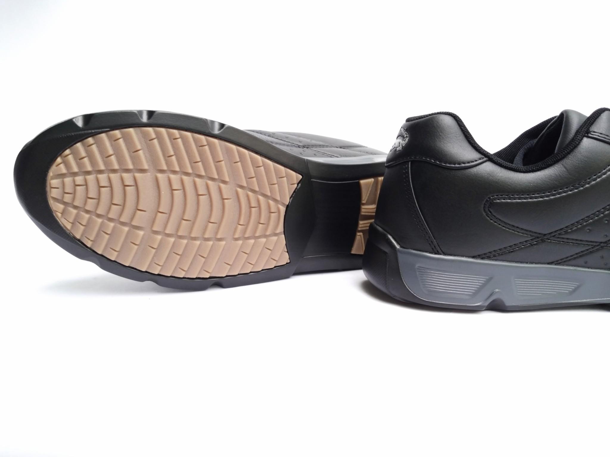 giày thời trang nam màu đen size to
