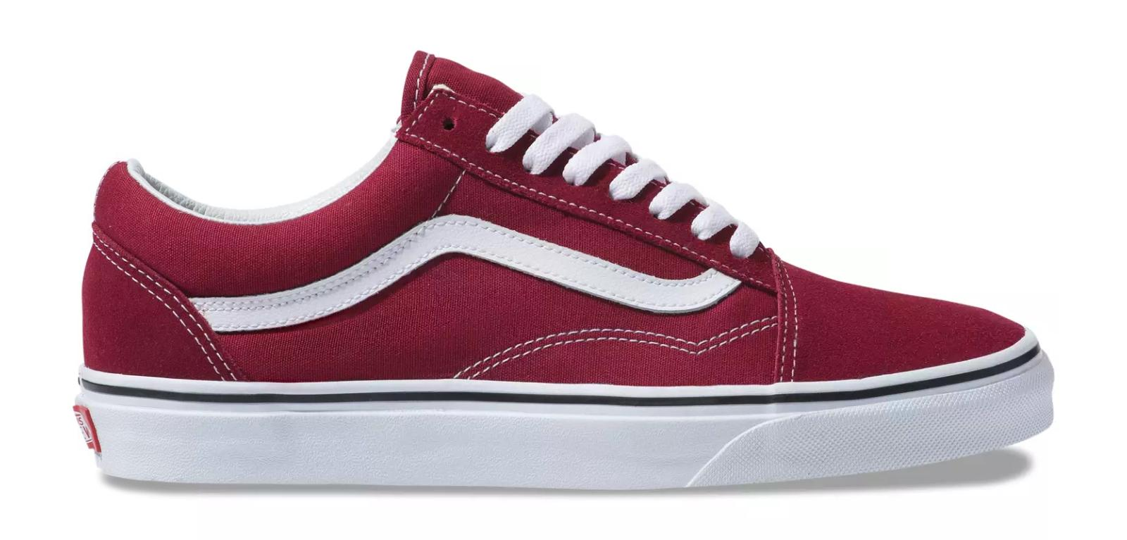 Giày Sneaker Vans Big Size Old Skool Rumba Red