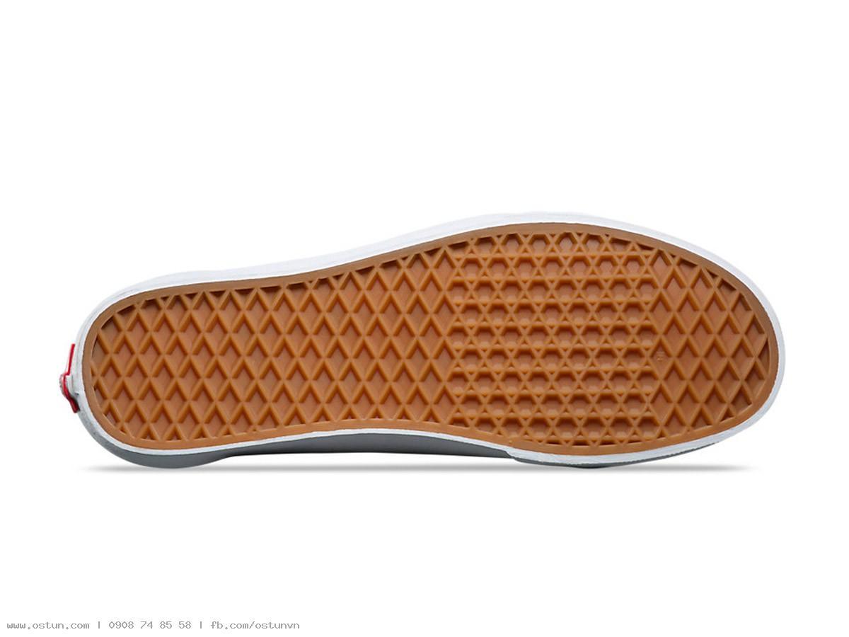 Giày Sneaker Vans Big Size Old Skool Xanh Viền Trắng