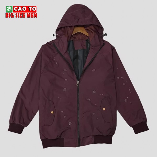 Áo khoác đỏ đô big size 3xl 4xl 5xl