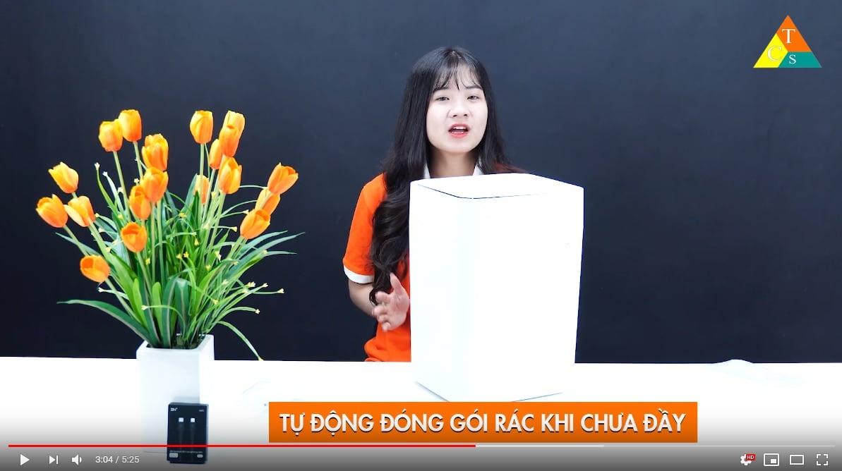 Thùng rác tự động Xiaomi Townew T1