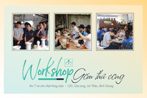 Workshop Gốm | Team Building