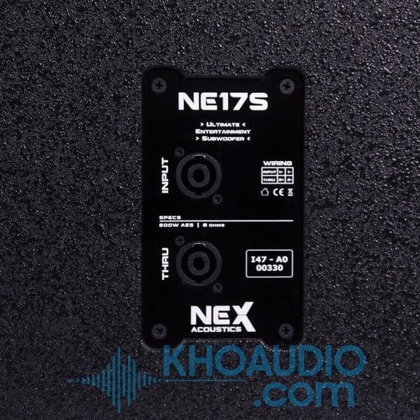 Loa sub hơi NEX Acoustics NE17S (bass 45cm)