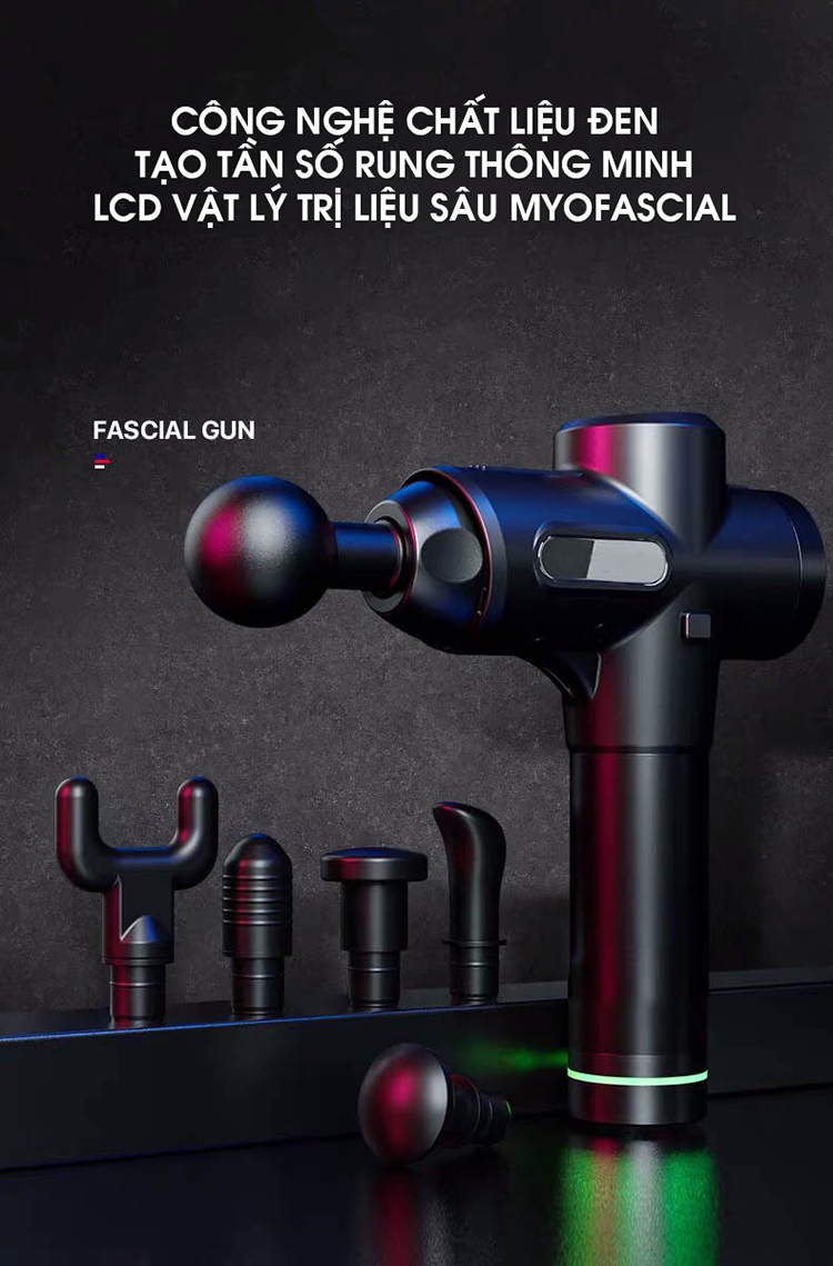 Máy Massage Cầm Tay Fascial Gun