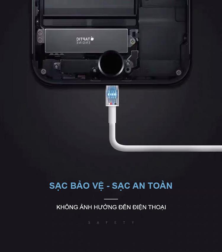 Sạc Nhanh Dành Cho Điện Thoại Apple iPhone Chuẩn Quốc Tế