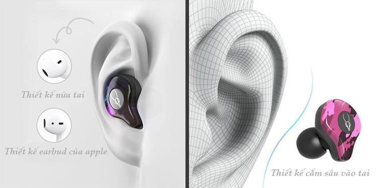 sử khác nhau giữa ear buds và in ear