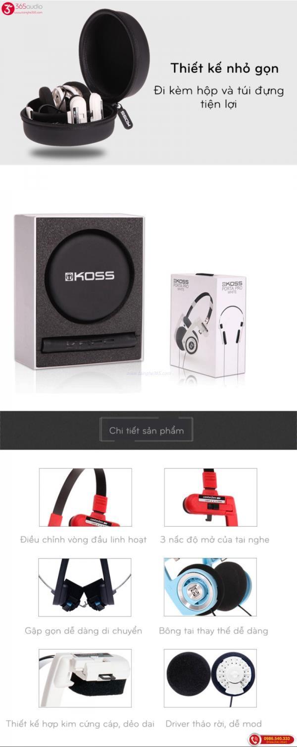 Koss portapro new