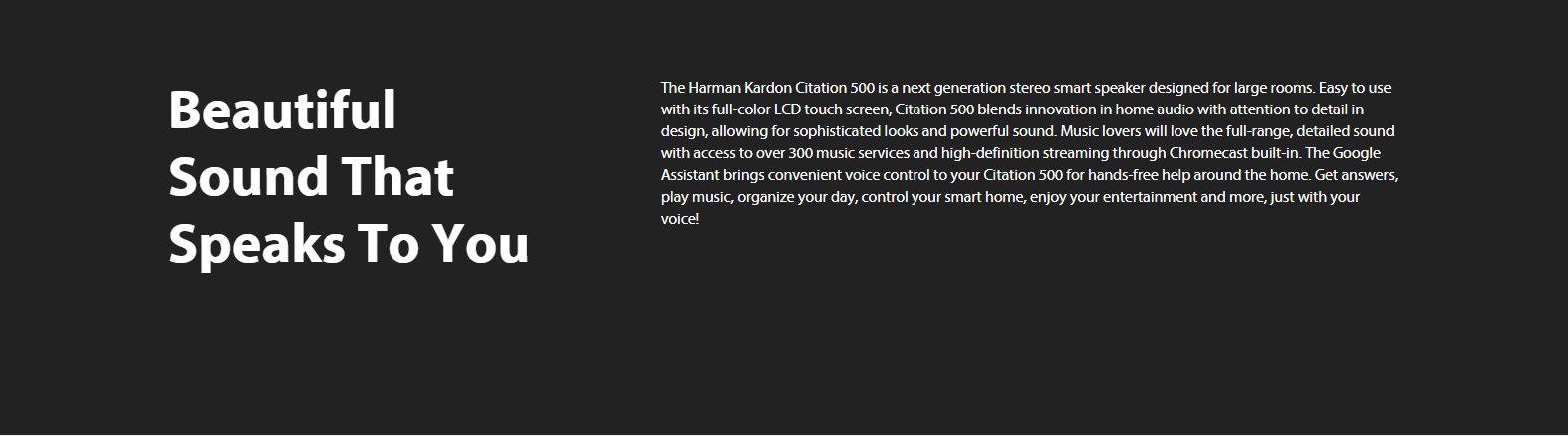 HARMAN/ KARDON CITATION 500