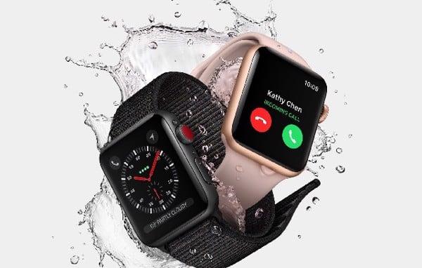 Apple Watch có khả năng chống nước 50m