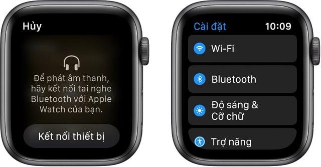 Apple Watch lỗi không kết nối với Bluetooth