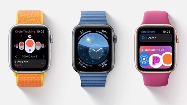 Apple Watch series 5 chạy trên hệ điều hành hoàn toàn mới